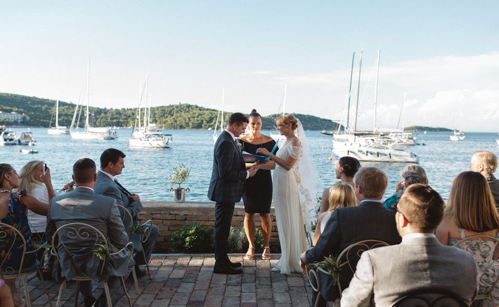 Wedding in Croatia Beach - Beach Wedding Venues