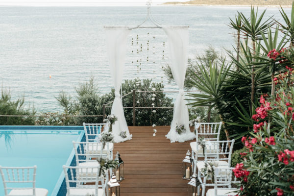 Beach Wedding Ceremony Croatia
